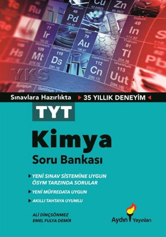 TYT Kimya Soru Bankası Aydın Yayınları