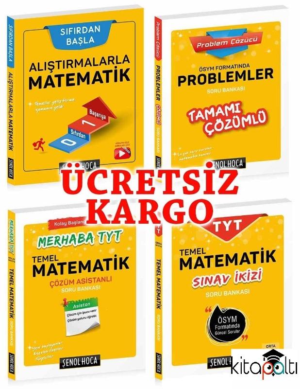 TYT AYT Kazandıran Matematik Seti 2019 Yeni Müfredat Şenol Hoca Yayınları