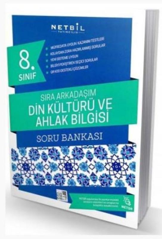 Netbil Yayıncılık 8. Sınıf Din Kültürü ve Ahlak Bilgisi Sıra Arkadaşım Soru Bankası