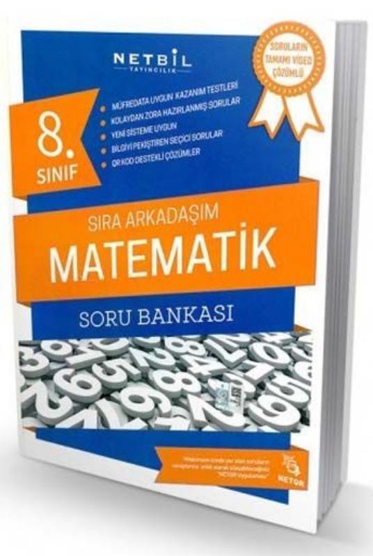 Netbil Yayıncılık 8. Sınıf Matematik Sıra Arkadaşım Soru Bankası