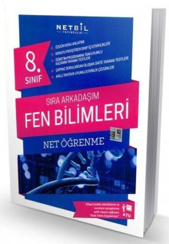 Netbil Yayıncılık 8. Sınıf Fen Bilimleri Sıra Arkadaşım Soru Bankası