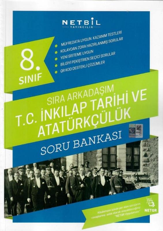 Netbil Yayıncılık 8. Sınıf T.C. İnkılap Tarihi ve Atatürkçülük Sıra Arkadaşım Soru Bankası