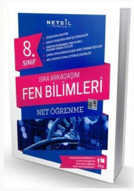 Netbil Yayıncılık 8. Sınıf Fen Bilimleri Net Öğrenme Sıra Arkadaşım