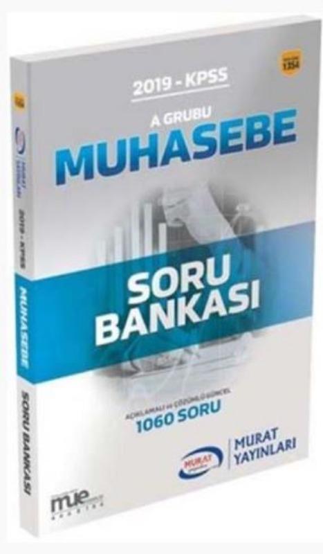 Murat Yayınları 2019 KPSS A Grubu Muhasebe Açıklamalı ve Çözümlü Soru Bankası