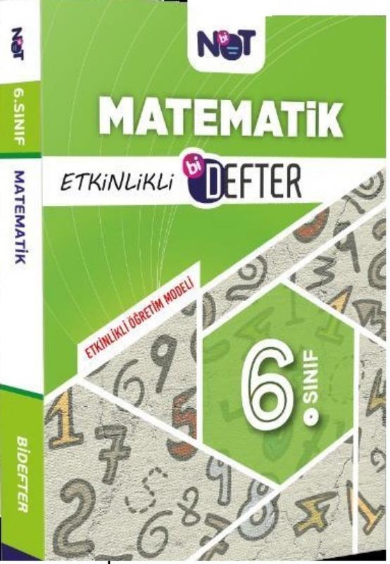 Bi Not Yayınları 6. Sınıf Matematik Etkinlikli Bi Defter