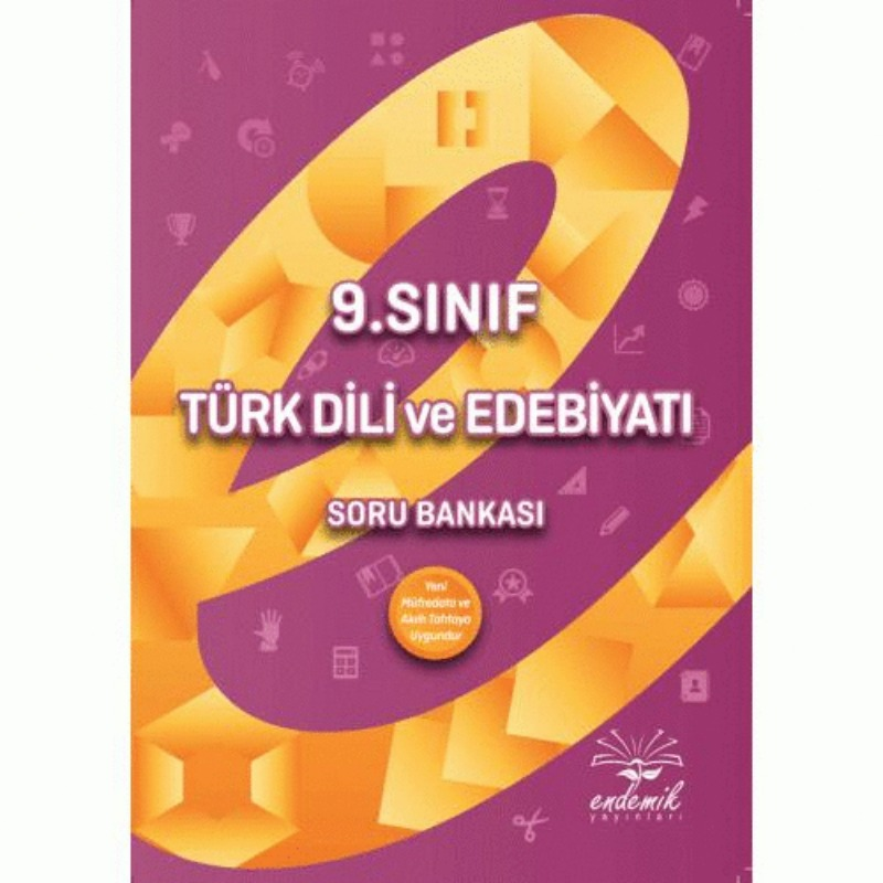 9.Sınıf Türk Dili ve Edebiyatı Soru Bankası Endemik Yayınları