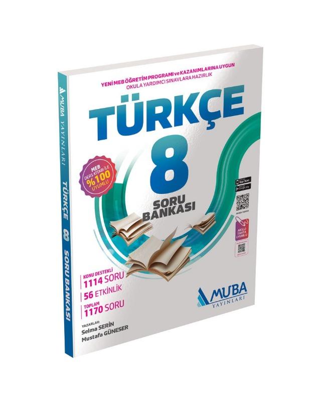 8. Sınıf Türkçe Soru Bankası Muba Yayınları