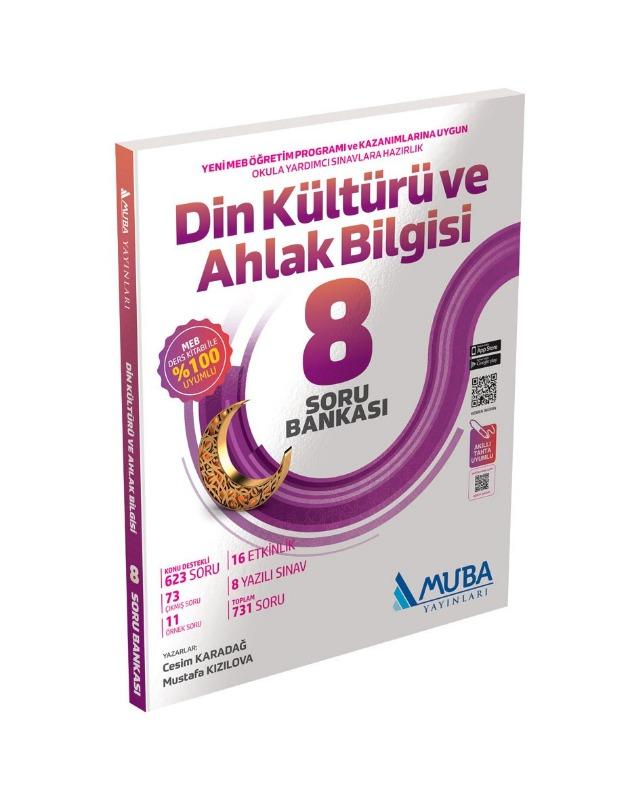 8.Sınıf Din Kültürü ve Ahlak Bilgisi Soru Bankası Muba Yayınları