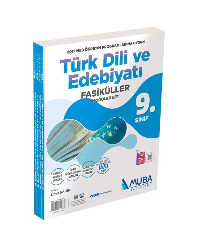 9. Sınıf Türk Dili ve Edebiyatı Fasiküller Modüler Set Muba Yayınları