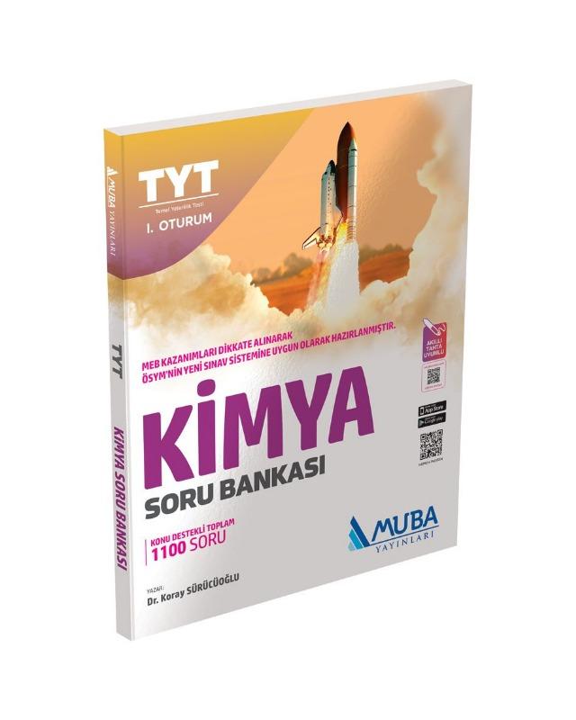 TYT Kimya Soru Bankası Muba Yayınları