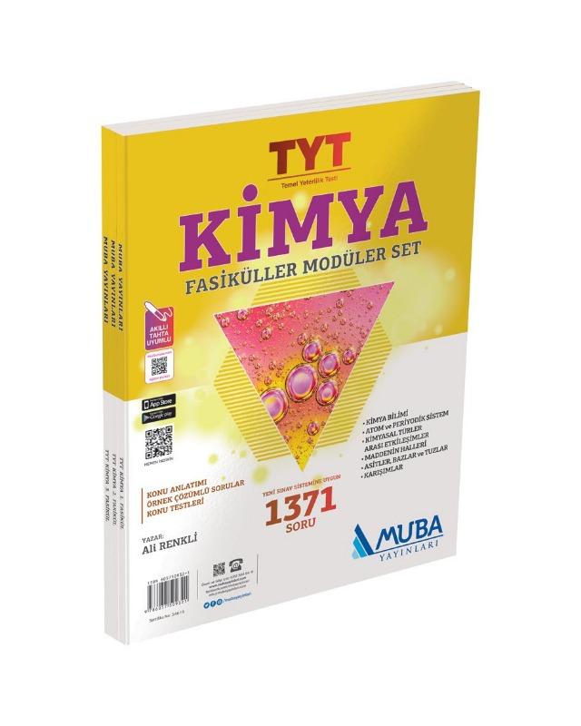 TYT Kimya Fasiküller Modüler Set  Muba Yayınları