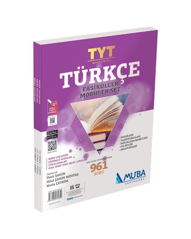 TYT Türkçe Fasikülleri Modüler Set Muba Yayınları