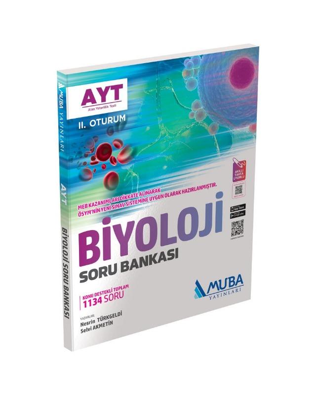 AYT Biyoloji Soru Bankası Muba Yayınları
