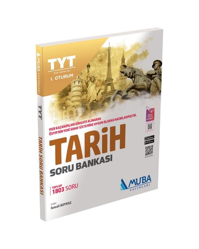 TYT Tarih Soru Bankası Muba Yayınları