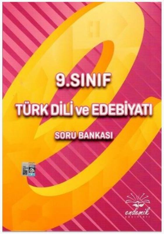 Endemik Yayınları 9. Sınıf Türk Dili ve Edebiyatı Soru Bankası