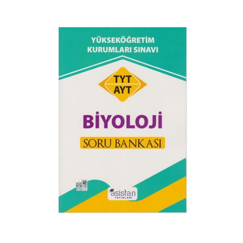 TYT AYT Biyoloji Soru Bankası Asistan Yayınları