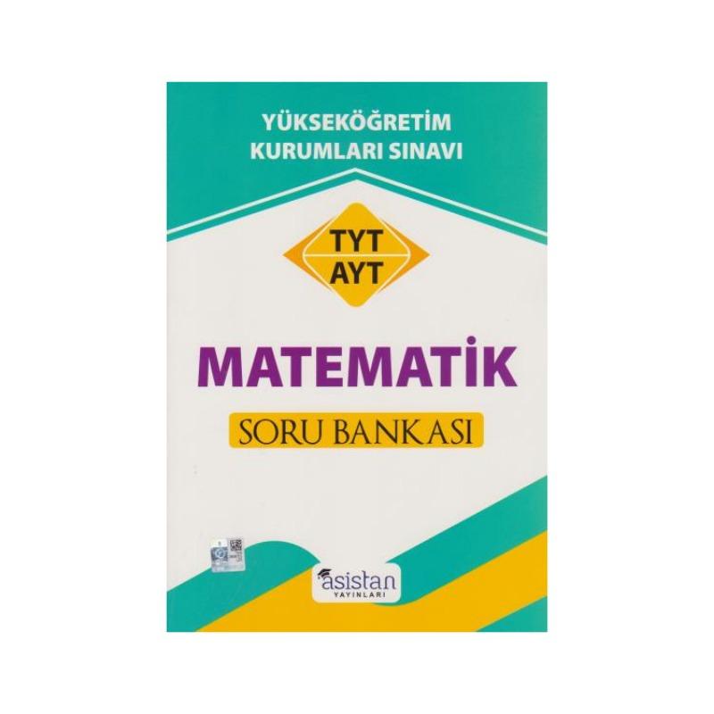 TYT AYT Matematik Soru Bankası Asistan Yayınları