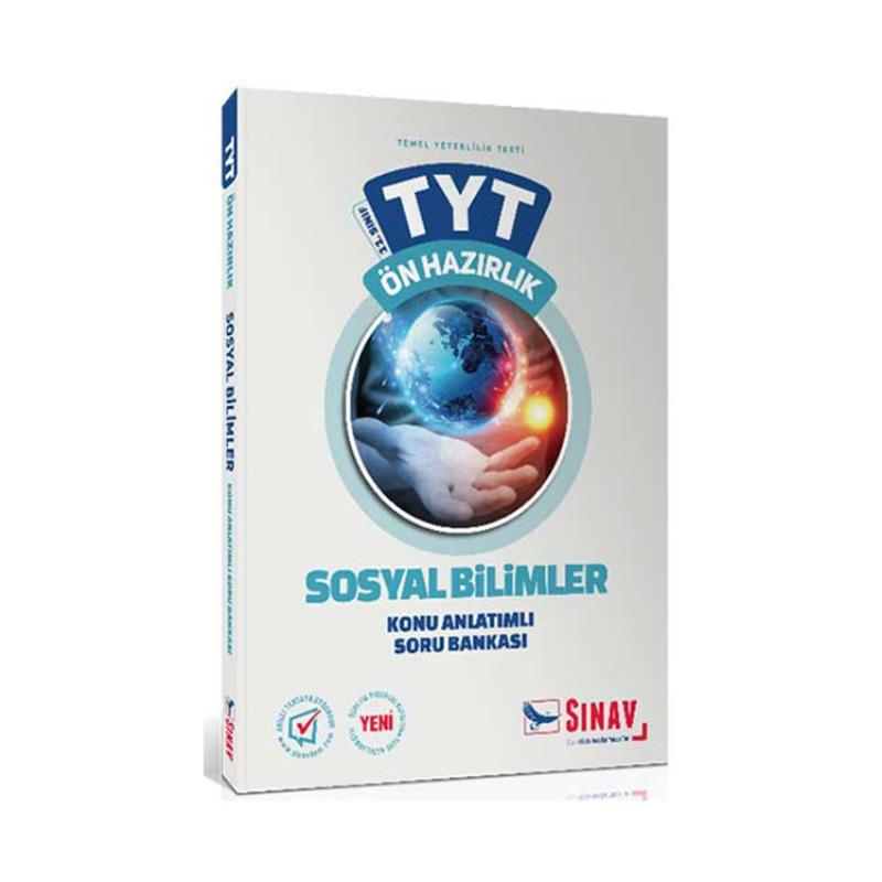 Sınav Yayınları 11. Sınıf Sosyal Bilimler TYT Ön Hazırlık Konu Anlatımlı Soru Bankası