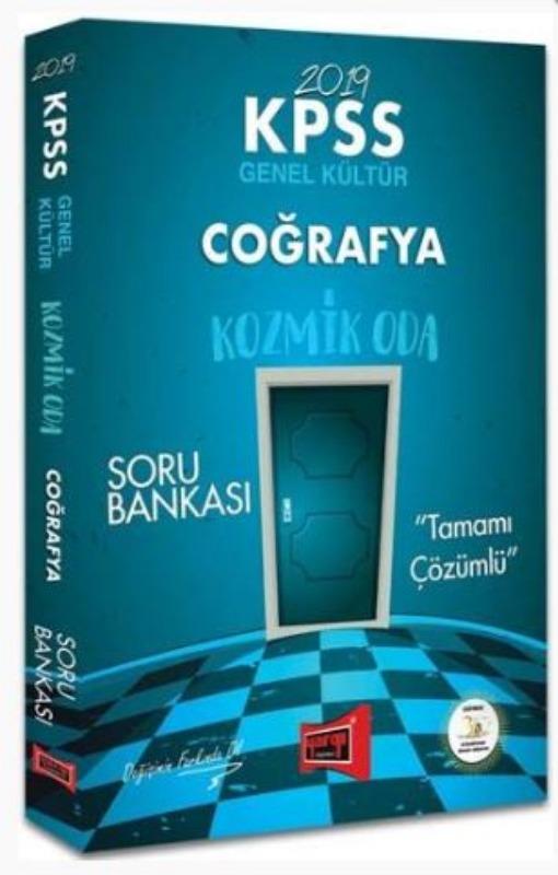 Yargı Yayınları 2019 KPSS Coğrafya Kozmik Oda Tamamı Çözümlü Soru Bankası