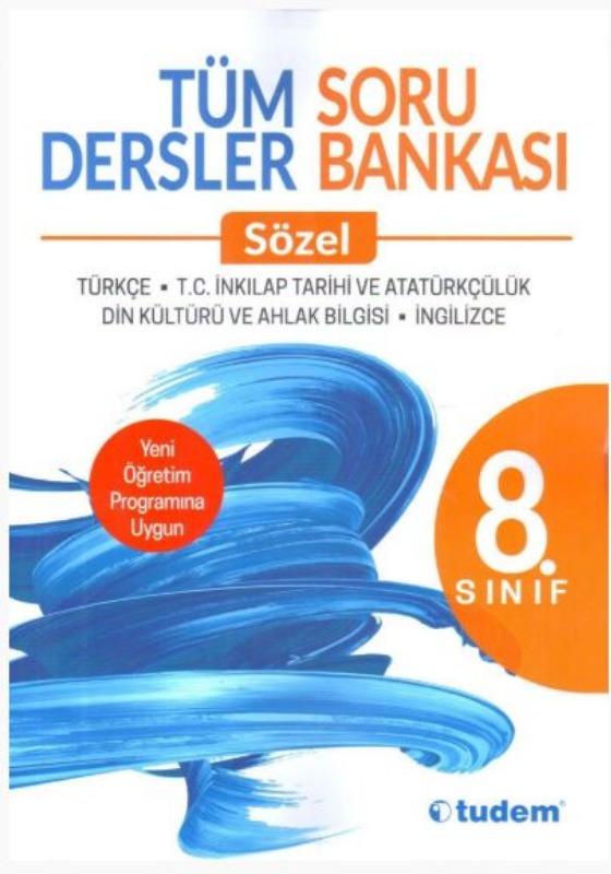 Tudem Yayınları 8. Sınıf Tüm Dersler Sözel Soru Bankası