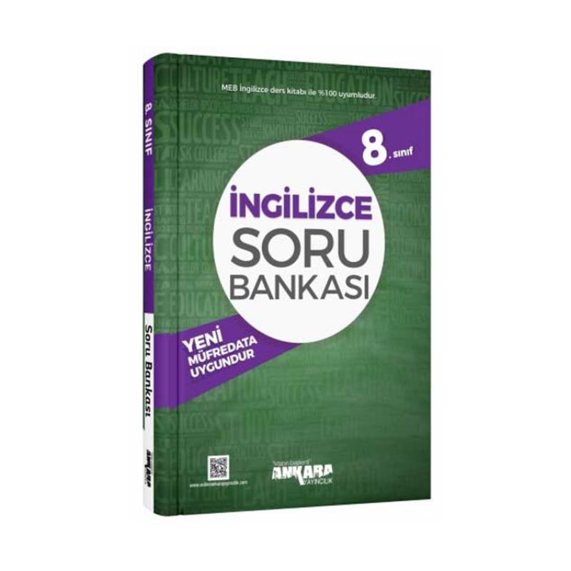 Ankara Yayıncılık 8. Sınıf İngilizce Soru Bankası