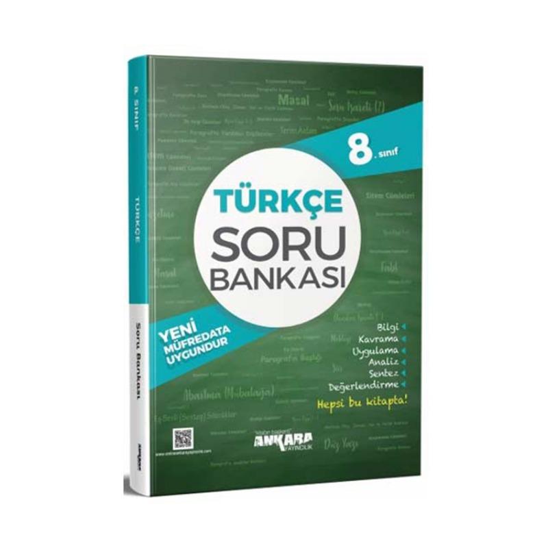 Ankara Yayıncılık 8.Sınıf Türkçe Soru Bankası