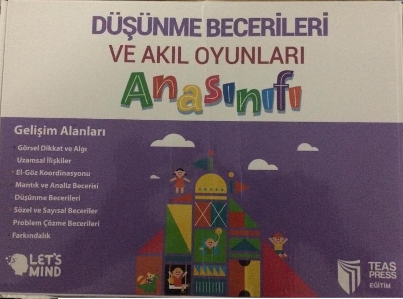 Anasınıfı Düşünme Becerileri ve Akıl Oyunları Seti Teas Press Yayınları
