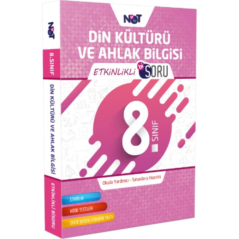 8.Sınıf Din Kültürü ve Ahlak Bilgisi Etkinlikli Bi Soru BiNot Yayınları