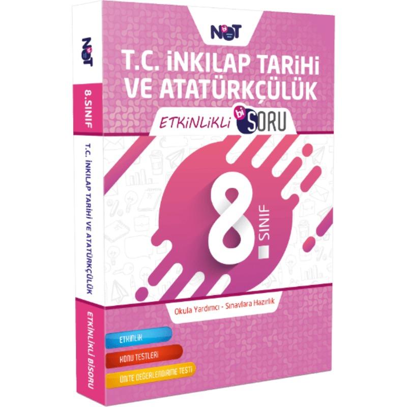 8.Sınıf T.C. İnkılap Tarihi ve Atatürkçülük Etkinlikli Bi Soru BiNot Yayınları