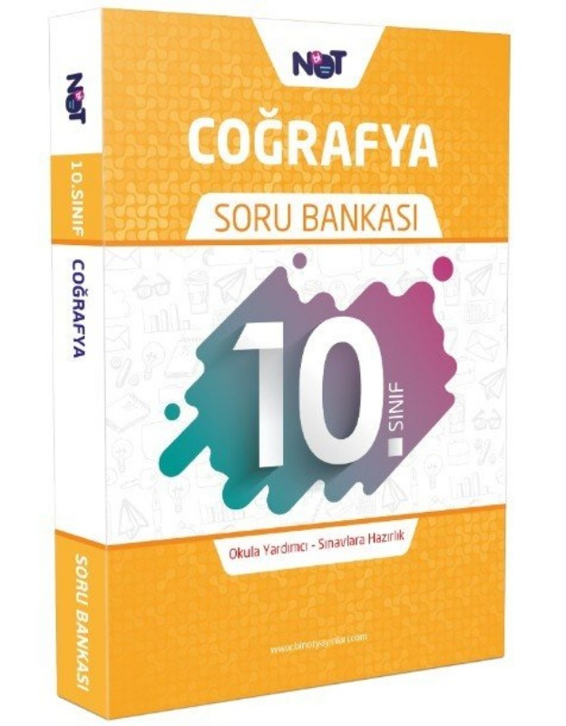 10.Sınıf Coğrafya Soru Bankası BiNot Yayınları