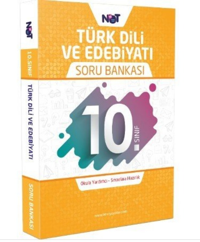 10.Sınıf Türk Dili ve Edebiyatı Soru Bankası BiNot Yayınları