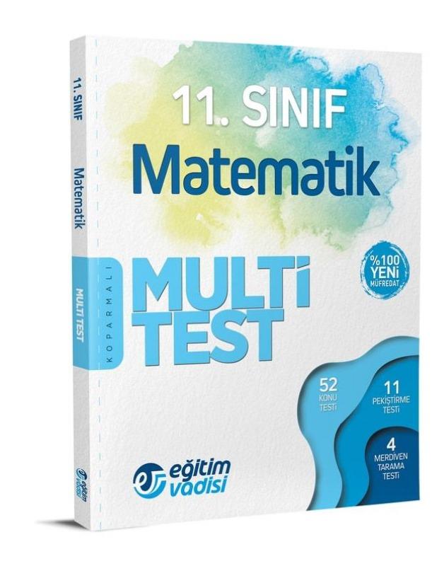 11.Sınıf Matematik Multi Test Eğitim Vadisi Yayınları