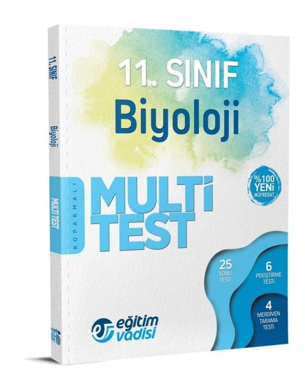 11.Sınıf Biyoloji Multi Test Eğitim Vadisi Yayınları