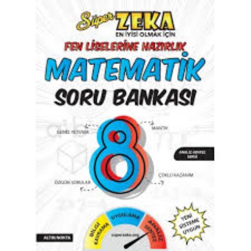 8. Sınıf Pısa-Tımss Süper Zeka Fen Liselerine Hazırlık Matematik Soru Bankası