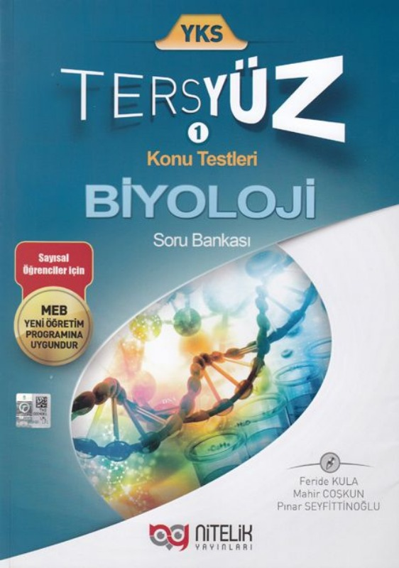 Nitelik Yayınları TYT Tersyüz Biyoloji Soru Bankası