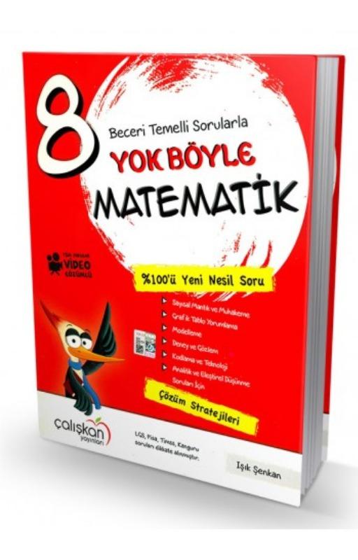 Çalışkan Yayınları  8. Sınıf Yok Böyle Matematik  Soru Bankası