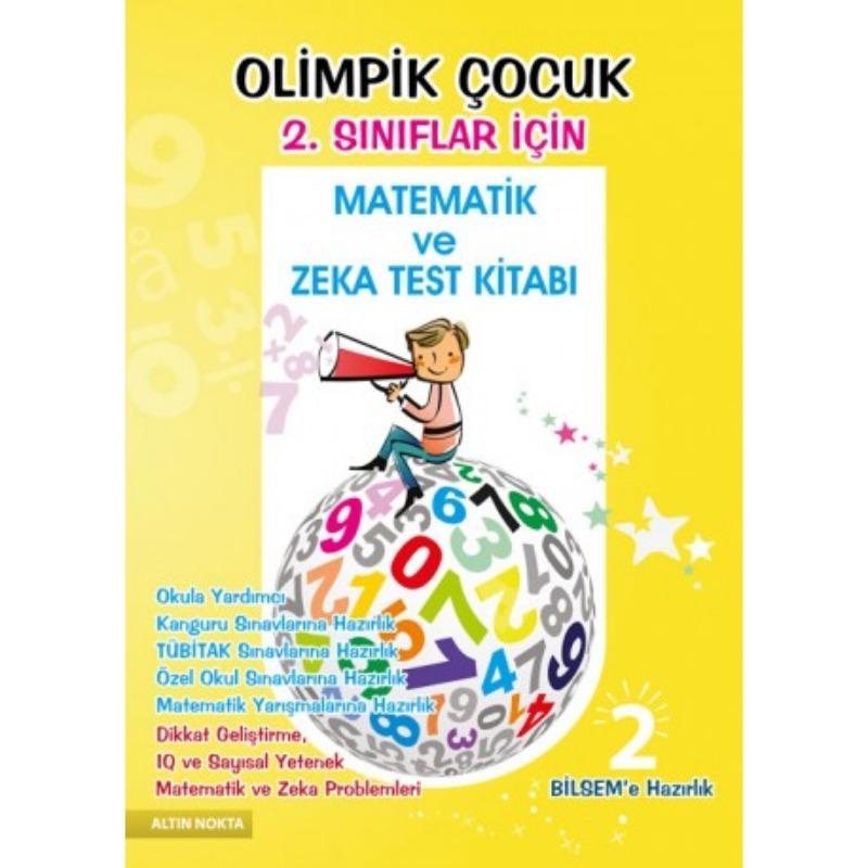 2. Sınıf Olimpik Çocuk Bilsem Kanguru Olimpiyat Zeka Kitabı
