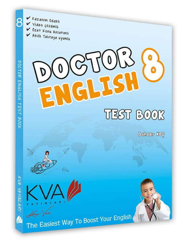 Kva Yayın 8.Sınıf Doctor English Test Book