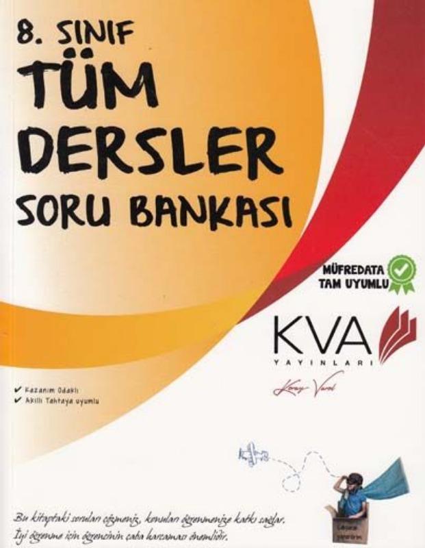 KVA Yayın 8.Sınıf Tüm Dersler Soru Bankası