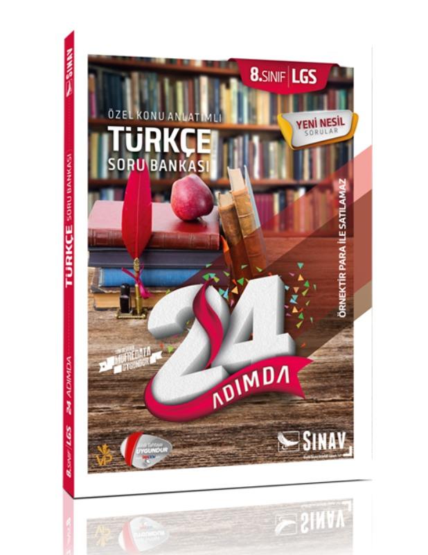 Sınav Yayınları 8. Sınıf LGS Fen Bilimleri 24 Adımda Soru Bankası