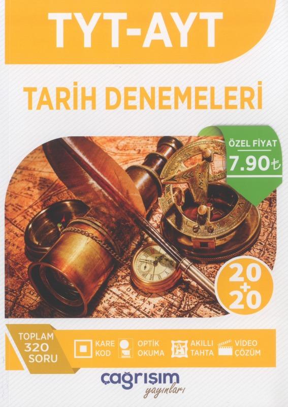 TYT AYT Tarih Denemeleri Çağrışım Yayınları