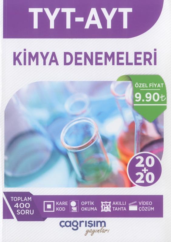 TYT AYT Kimya Denemeleri Çağrışım Yayınları