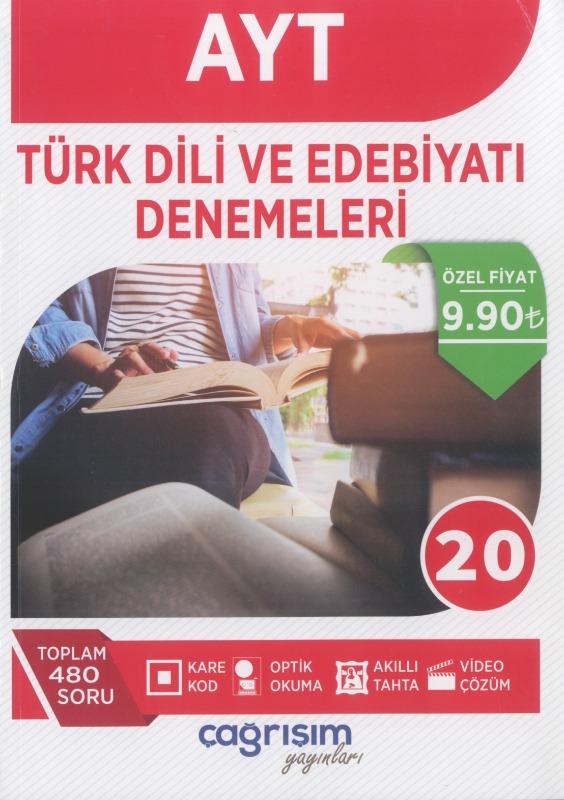 AYT Türk Dili ve Edebiyatı Denemeleri Çağrışım Yayınları