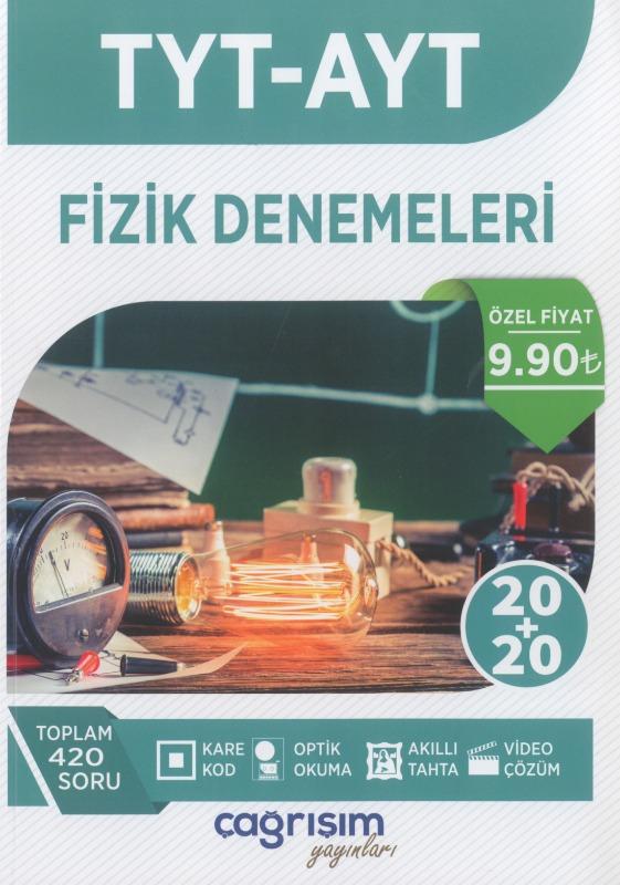 TYT AYT Fizik Denemeleri Çağrışım Yayınları