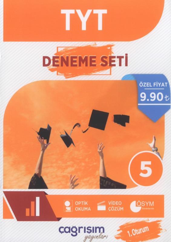 TYT 5 Deneme Sınavı Çağrışım Yayınları