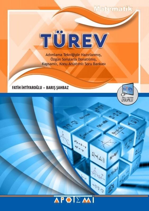 Apotemi Yayınları Türev Konu Anlatımlı Soru Bankası
