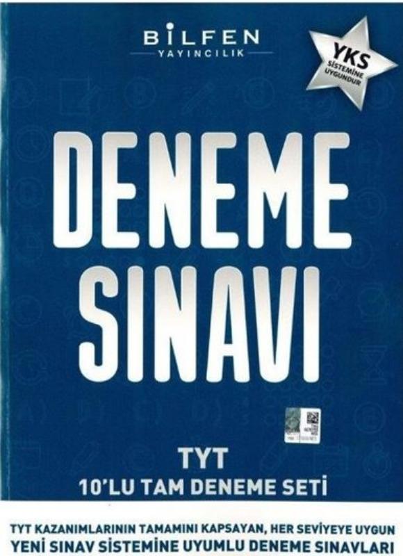 Bilfen Yayınları TYT 10 lu Deneme Sınavı Seti
