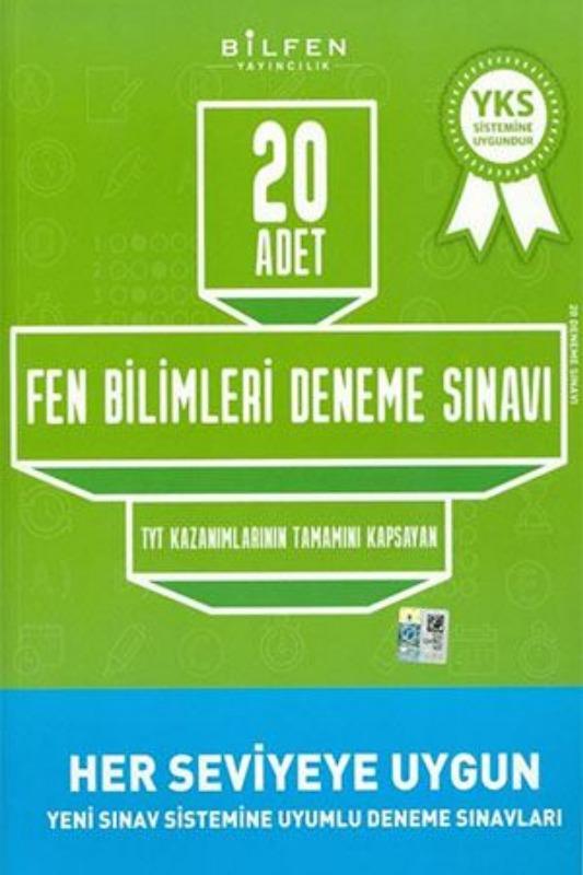 Bilfen Yayınları TYT Fen Bilimleri 20 li Deneme Sınavı