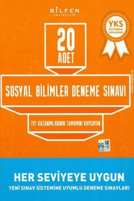 Bilfen Yayınları TYT Sosyal Bilimler 20 li Deneme Sınavı