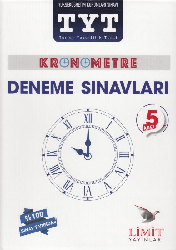 Limit Yayınları TYT Kronometre 5 Adet Deneme Sınavı Seti